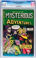 Golden Age (1938-1955):Horror, Mysterious Adventures #2 (Story Comics, 1951) CGC FN+ 6.5 Cream tooff-white pages....