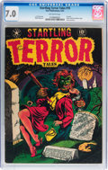 Golden Age (1938-1955):Horror, Startling Terror Tales #10 (Star Publications, 1952) CGC FN/VF 7.0Off-white pages....