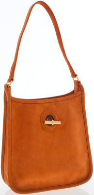 Hermes Orange H Veau Doblis Vespa TPM Bag