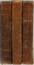 Books:Literature Pre-1900, Regina Maria Roche. The Children of the Abbey. Vol. I-III.Philadelphia: Woodward, 1827. 32mo. Contemporary leat... (Total: 3Items)