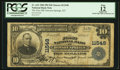 National Bank Notes:Kentucky, Dawson Springs, KY - $10 1902 Plain Back Fr. 632 The First NB Ch. #11548. ...
