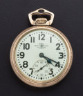 Timepieces:Pocket (post 1900), Ball 21 Jewel 999 B Pocket Watch. ...