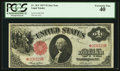 Large Size:Legal Tender Notes, Fr. 36* $1 1917 Legal Tender PCGS Extremely Fine 40.. ...