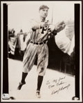Baseball Collectibles:Photos, Dave Bancroft Signed Photograph. ...