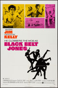 "Movie Posters:Blaxploitation, Black Belt Jones (Warner Brothers, 1974). One Sheet (27"" X 41""). Blaxploitation.. ..."
