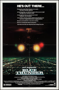 """Blue Thunder & Other Lot (Columbia, 1983). One Sheets (2) (27"""" X 41""""). Action. ... (Total: 2 Items)"""