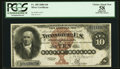 Large Size:Silver Certificates, Fr. 289 $10 1880 Silver Certificate PCGS Apparent Choice About New58.. ...
