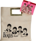 Music Memorabilia:Memorabilia, Beatles Handbag and Wallet (Circa 1964).... (Total: 2 Items)