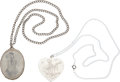 Music Memorabilia:Memorabilia, Elvis Presley Vintage Necklaces (1956-57).... (Total: 2 Items)