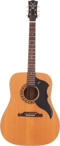 "Music Memorabilia:Instruments , A Phil ""Fang"" Volk Owned and Used Vox Acoustic Guitar, 1960s...."