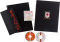 Music Memorabilia:Memorabilia, George Harrison Live in Japan Deluxe Limited Edition Book Signed by George Harrison and CD Set #1555/3500 (Genesis Pub...