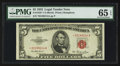 Small Size:Legal Tender Notes, Fr. 1532* $5 1953 Legal Tender Star Note. PMG Gem Uncirculated 65 EPQ.. ...