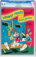 Golden Age (1938-1955):Cartoon Character, Looney Tunes and Merrie Melodies Comics #104 (Dell, 1950) CGC VF+8.5 White pages....