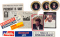 "Movie/TV Memorabilia:Props, A Group of Prop Magazines, Newspapers and Other Items from""JFK.""..."