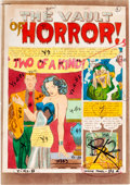 "Memorabilia:Comic-Related, The Vault of Horror #26 ""Two of a Kind!"" Complete Story Silverprint Proof Group (EC, 1952)... (Total: 8 Items)"
