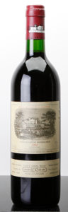 Red Bordeaux, Chateau Lafite Rothschild 1992 . Pauillac. lbsl. Bottle (1).... (Total: 1 Btl. )