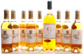 White Bordeaux, Chateau Coutet . 2003 Barsac Half-Bottle (8). Chateau Gilette . 1958 Sauternes bn, lbsl, pale honey colo... (Total: 1 Btl. & 8 Halves. )
