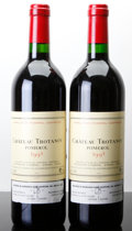 Red Bordeaux, Chateau Trotanoy 1995 . Pomerol. Bottle (2). ... (Total: 2Btls. )