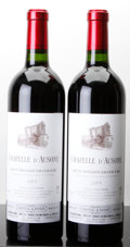 Red Bordeaux, La Chapelle d'Ausone 2003 . St. Emilion. 1lscl. Bottle (2).... (Total: 2 Btls. )