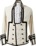 "Music Memorabilia:Costumes, A Phil ""Fang"" Volk of Paul Revere and the Raiders Stage-Worn Jacket, Circa 1960s...."
