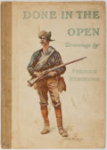 Books:Art & Architecture, Frederic Remington. Done in the Open: Drawings by Frederic Remington. Collier, 1902. Later impression. Folio. Some t...
