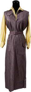 """Movie/TV Memorabilia:Costumes, A Jennifer Jones Costume from """"The Man in the Gray Flannel Suit""""from The Debbie Reynolds Collection.... (Total: 3 Items)"""