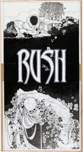 Music Memorabilia:Posters, Rush Poster Art and Signed Print (2006).... (Total: 3 Items)