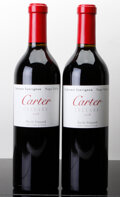 Domestic Cabernet Sauvignon/Meritage, Carter Cabernet Sauvignon 2008 . Revilo Vineyard. Bottle(2). ... (Total: 2 Btls. )