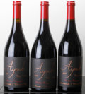 Domestic Pinot Noir, Ayoub Pinot Noir. Brittan Vineyard. 2009 Bottle (1). 2010Bottle (1). 2011 Bottle (1). ... (Total: 3 Btls. )