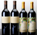 Domestic Merlot/Cabernet Franc, Arietta Merlot. 1999 Bottle (2). Nickel & Nickel Merlot. 2006 Suscol Ranch Bottle (1). 2008 Susco... (Total: 4 Btls. )