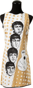 Music Memorabilia:Memorabilia, Beatles Ladies Smock Dress...