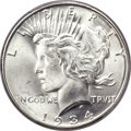 Peace Dollars, 1934-D $1 Doubled Die Obverse MS66+ PCGS. CAC. VAM-3....