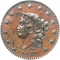 Proof Large Cents, 1829 1C Large Letters, Bronzed PR65 Brown PCGS. N-6, High R.6 as aProof....