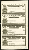 American Bankers Association Travelers' Cheques Proofs April 1929