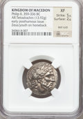 Ancients:Greek, Ancients: MACEDONIAN KINGDOM. Philip II (359-323 BC). ARtetradrachm (13.92 gm)....