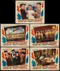 "Movie Posters:Musical, This is the Army (Warner Brothers, 1943). Lobby Cards (5) (11"" X 14""). Musical.. ... (Total: 5 Items)"