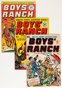 Boys' Ranch #4-6 Group (Harvey, 1951).... (Total: 3 Comic Books)
