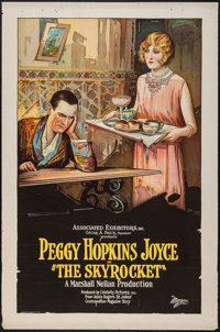 """The Skyrocket (Associated Exhibitors, 1926). One Sheet (27"""" X 41""""). Comedy"""