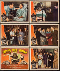 """Movie Posters:Horror, Captive Wild Woman (Universal, 1943). Title Lobby Card & Lobby Cards (5) (11"""" X 14""""). Horror.. ... (Total: 5 Items)"""