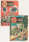 Premiums:Miscellaneous, P.S. The Preventive Maintenance Monthly Group (U. S. Army, 1951).... (Total: 2 Comic Books)