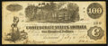 Confederate Notes:1862 Issues, T39 $100 1862 PF-11 Cr. UNL.. ...