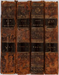 Books:Literature Pre-1900, Cervantes. Tobias Smollett [translator]. Don Quixote. Vol.I-IV. New York: David Huntington, 1815. Each volume w... (Total: 4Items)