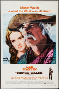 """Monte Walsh & Others Lot (National General, 1970). One Sheets (8) (27"""" X 41""""). Western. ... (Total: 8..."""