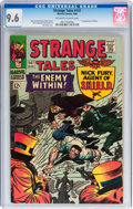 Silver Age (1956-1969):Superhero, Strange Tales #147 (Marvel, 1966) CGC NM+ 9.6 Off-white to white pages....