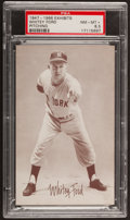 Baseball Cards:Singles (1940-1949), 1947-1966 Exhibits Whitey Ford, Pitching PSA NM-MT+ 8.5....