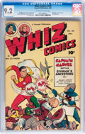 Golden Age (1938-1955):Superhero, Whiz Comics #109 (Fawcett Publications, 1949) CGC NM- 9.2 Off-white to white pages....
