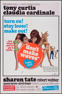"""Don't Make Waves (MGM, 1967). One Sheet (27"""" X 41""""). Comedy"""