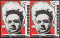 "Movie Posters:Fantasy, Eraserhead (Libra Films, R-1980s). Promotional Masks (2) (11"" X14""). Fantasy.. ... (Total: 2 Items)"