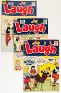 Silver Age (1956-1969):Humor, Laugh Comics Group (Archie, 1956-67) Condition: Average GD/VG.... (Total: 11 Comic Books)