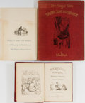 Books:Literature Pre-1900, Richard Doyle. Group of Three Related Books. Various publishers, 1850-1973. One volume in wrappers. Good or better condition... (Total: 3 Items)